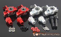 FID Front Hub Carrier Wheel Steering Seat Axle Extender for 1/5 Scale RC Truck LOSI DBXL DBXL E