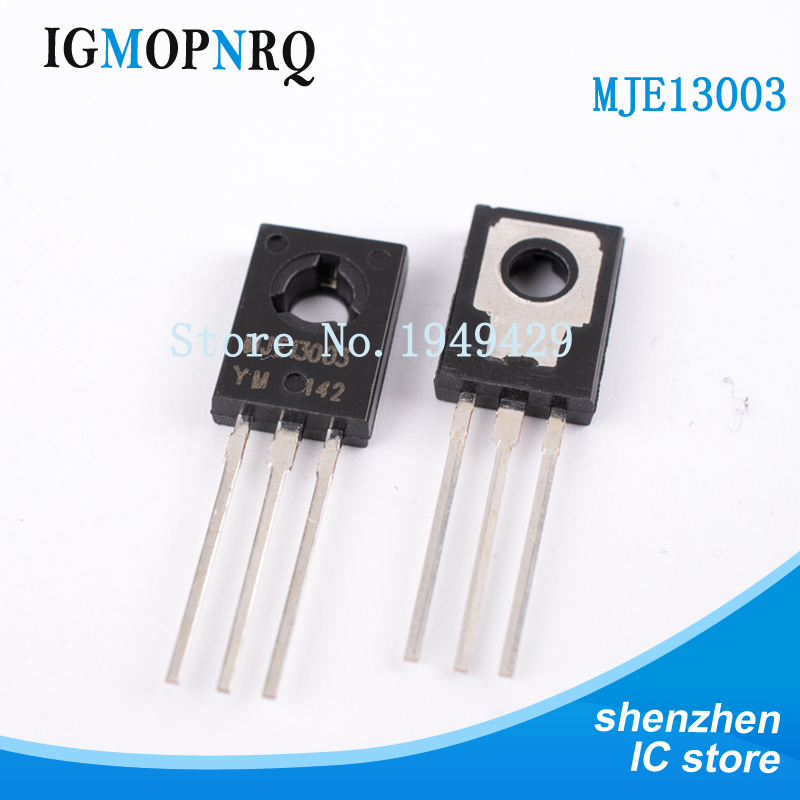 50PCS/LOT MJE13003 <font><b>E13003</b></font>-2 <font><b>E13003</b></font> TO-126 Transistor 13003 New Original image
