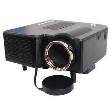 LED Proyector Multimedia HD UC28 Home Theater Mini Proyector Portátil de la Ayuda 1080 P HDMI av-in de Vídeo VGA HDMI USB SD