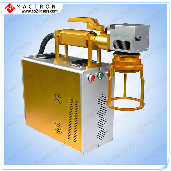 Asztali szálas lézeres jelölésű, 20W-os DIY fém lézergravírozó gép, mini lézergravírozó gép, lézerjelző alumínium