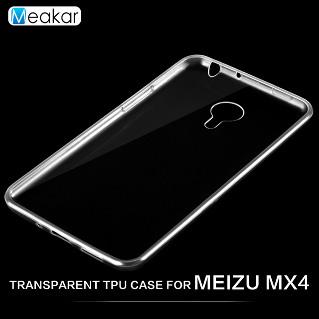 Transparent Soft TPU Silicon 5.36for meizu Mx4 Case For meizu Mx4 Mx 4 Cell Phone Back Cover Case