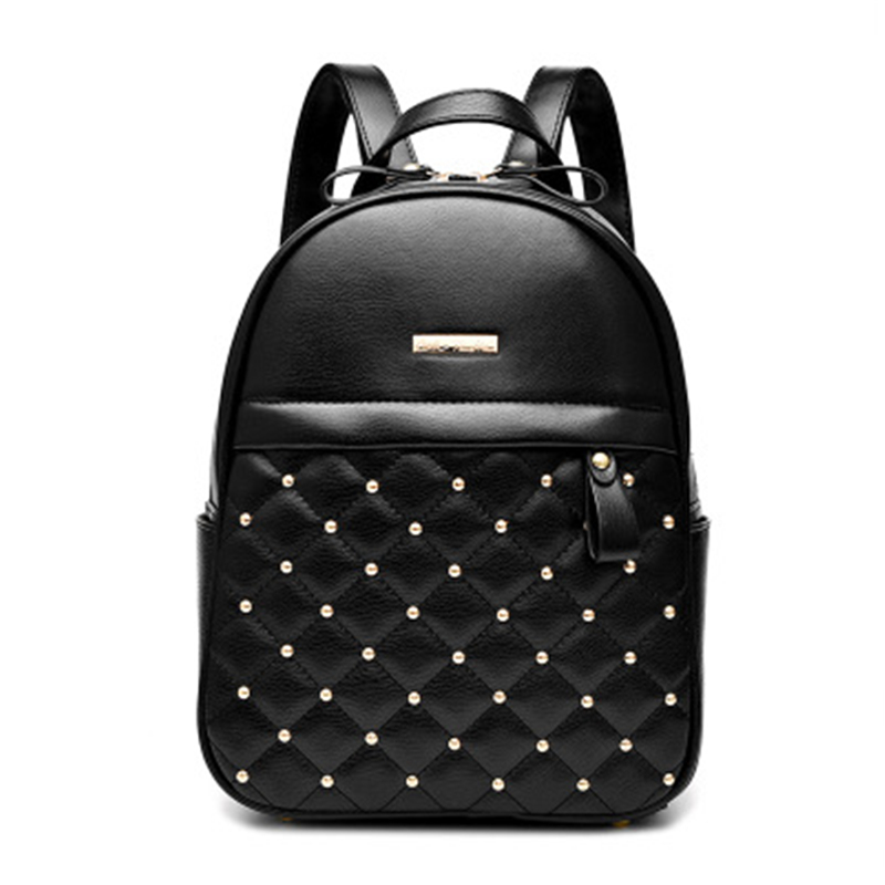 New Designer Fashion Women Backpack Soft Touch Multi Function Small Backpack Female Ladies Shoulder Bag Girl Purse