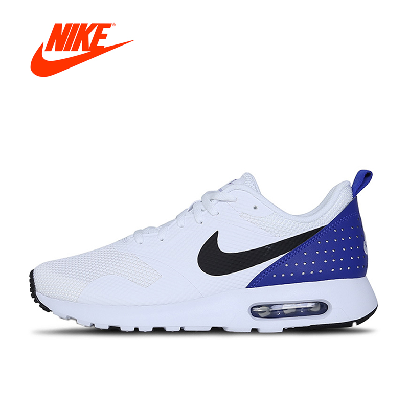 Official Nike New Arrival Original Air Max Tavas Men's Breathable Running Shoes Sneakers Outdoor Walking Jogging Sneakers nike original new arrival mens kaishi 2 0 running shoes breathable quick dry lightweight sneakers for men shoes 833411 876875