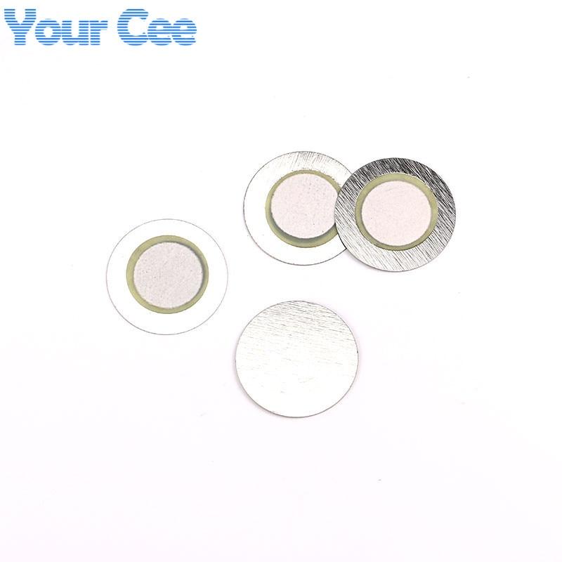100 шт 20 мм* 0,33 мм Железный пьезо диск для зуммер датчик давления динамик