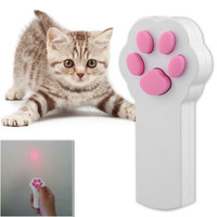Hoopet Funny Pet Cat Interactive Beam Automatic Red Laser Pointer Exercise Toy keeping your Pet Active and Healthy