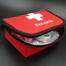 цена на 11pcs/set Emergency survival bag Family Mini First Aid Kit Sport Travel kits Home Medical Bag Outdoor Car First Aid Bag