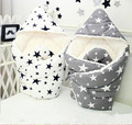 Autumn Winter Newborn Quilt Cotton Embossed  Thickening Plus Flannel Baby Carts Covered Blanket Warm Baby Quilt Bedding
