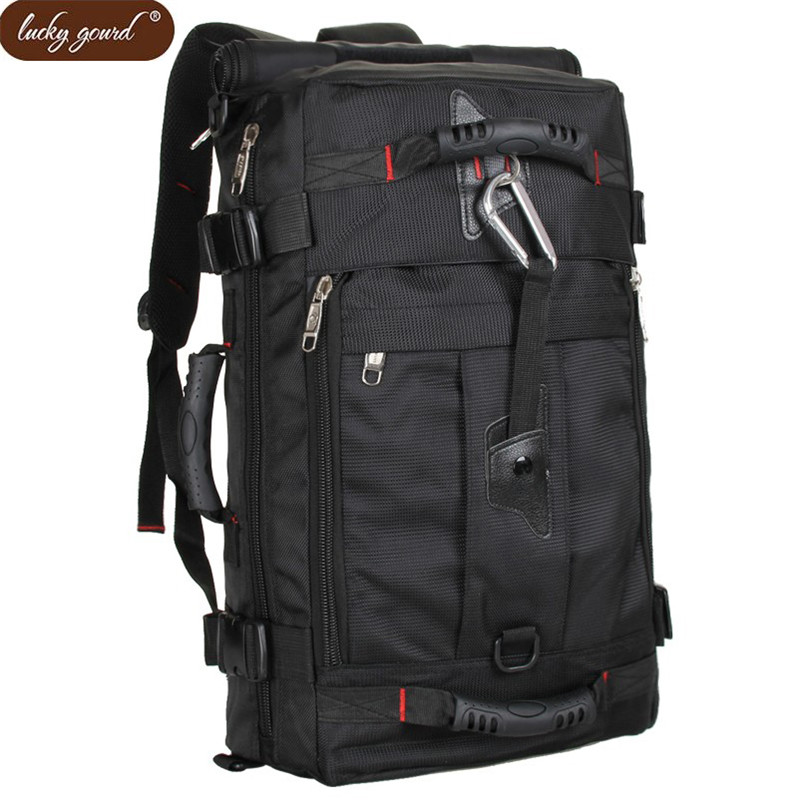 OURCIAO Hot Sale Military Army Backpack Black Bags Men 14 Laptop Backpack High Quality Nylon SchoolBag