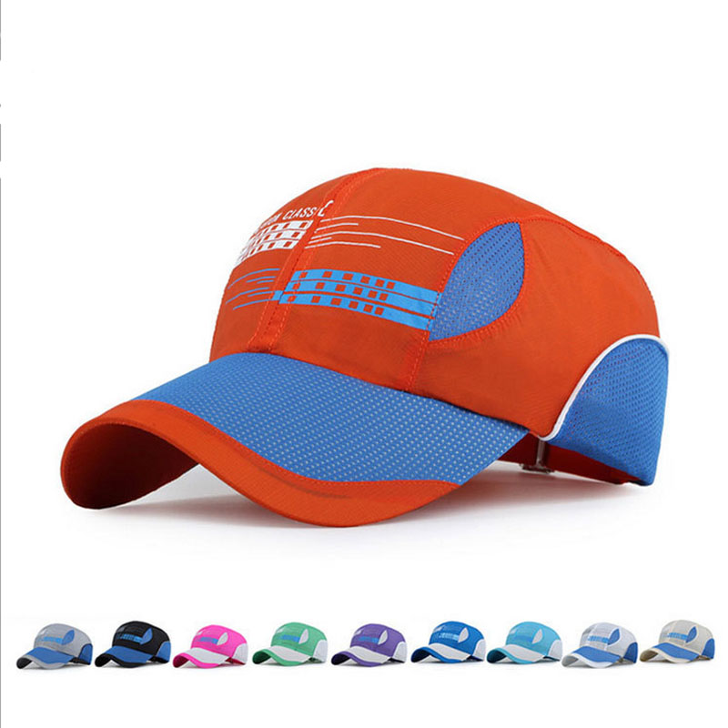 2016 Fashion Classic Quick-Drying snapback Baseball Caps Unisex Hiking Expedition Hat Brand Sport Anti-UV Mesh Cap casio ga 1000 1a