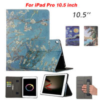 For IPad Pro 10 5 Tablet Case Cover PU Leather Slim Protective Stand Fundas For Apple