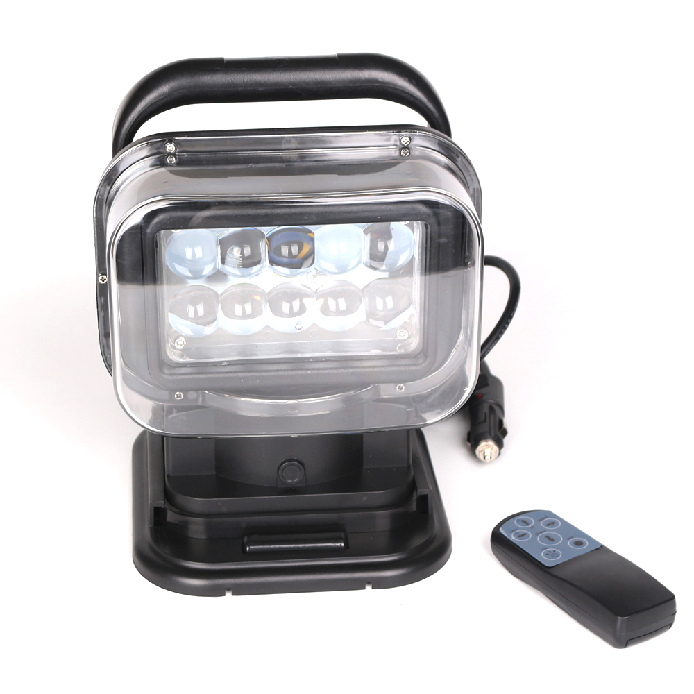 7inch 50W 12V-24V With WIFI Car Truck Offroad Vehicles Searchlight Led Work Light With Magnet for Hunting Searching
