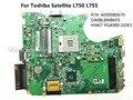 Для Toshiba Satellite L750 L755 материнская плата Ноутбука A000080670 DA0BLBMB6F0 PGA989 HM67 DDR3 100% Тестирование