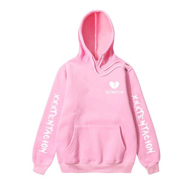 Newest Fashion XXXTentacion Hoodie Sweatshirt Rip XXXTentacion Hip Hop Rapper Hoodies Jahseh Dwayne Onfroy Revenge Man Clothing