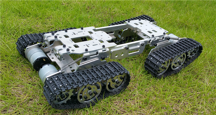 DIY Smart Tank car obstacle crossing chassis Tracked vehicle robot diy tracked robot