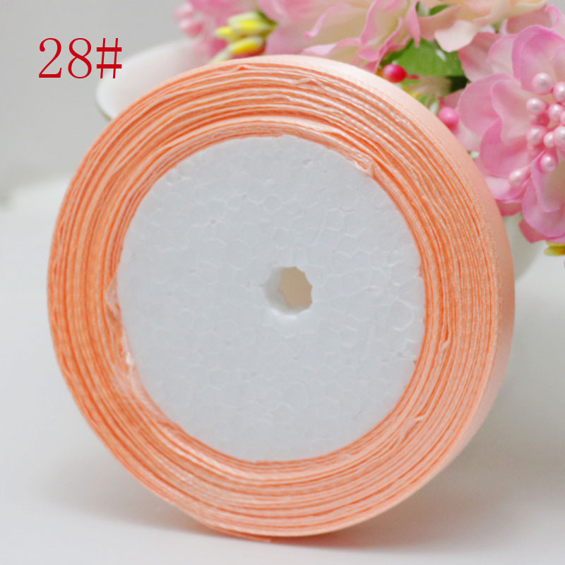 Grosgrain Ribbon-3//8 Inches-Peach//Coral 200 yards