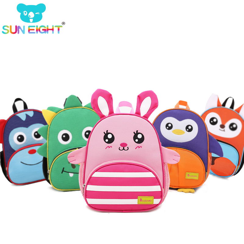 Zoo Mini School Bags Toddler Backpack 11' inch Kid Backpack Multicolored Boy/girls Kindergarten School Bag Fashion Toy For Baby zoo animal sweetheart backpack toddler pouch non woven string shoe shourlder school bag for boy and girls birthday party gift