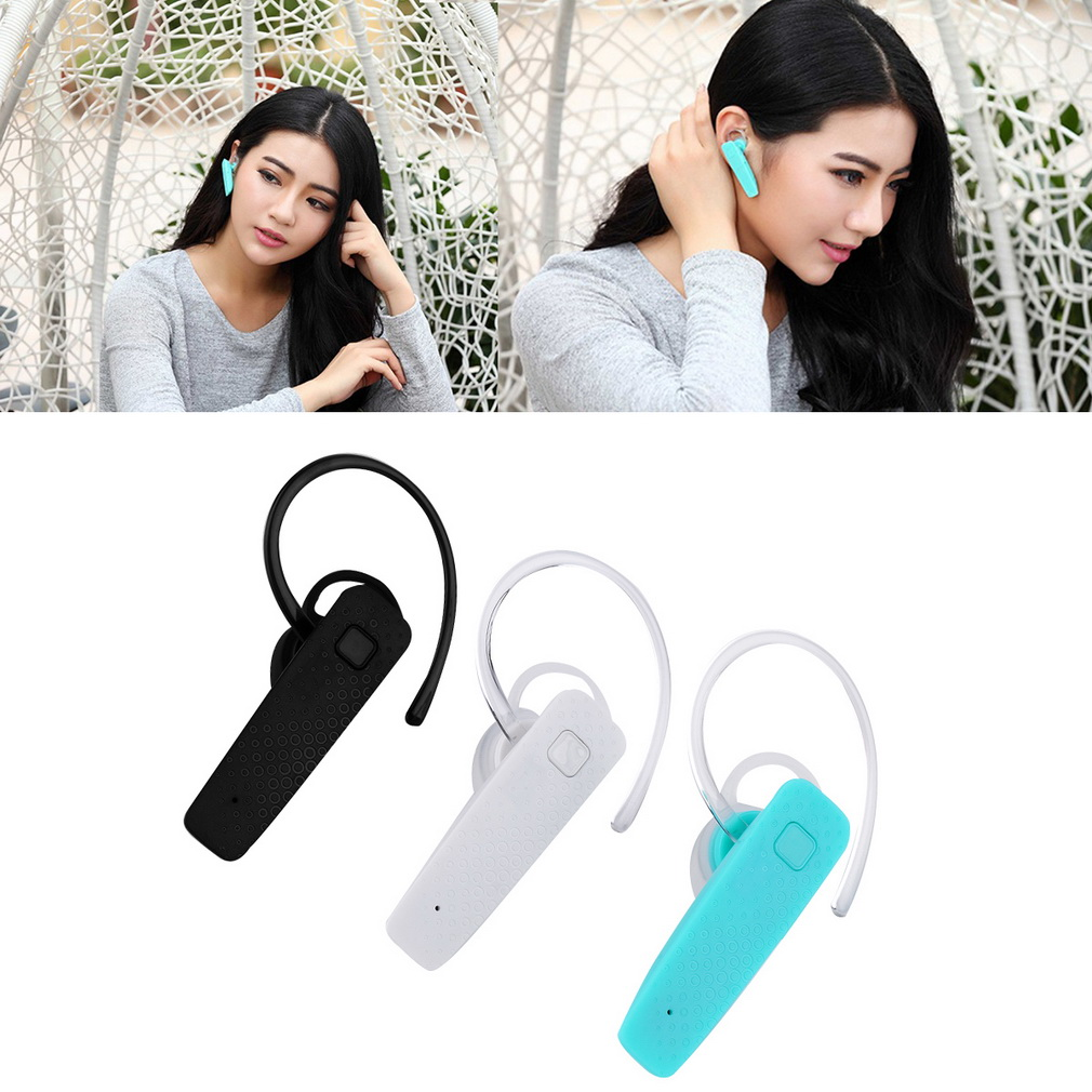 Light weight earbuds support Bluetooth 4.1 Wireless Headphone With Self-timer Stereo Headset support music/talk black/white/blue