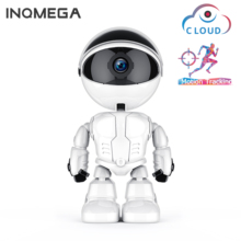 INQMEGA 1080P Cloud WIFI Robot camera Home Security Surveillance IP Camera Children Accompany Robot Wireless WiFi CCTV Camera