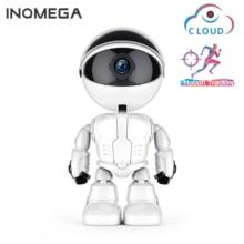 INQMEGA 1080P سحابة واي فاي روبوت كاميرا مراقبة أمن الوطن IP كاميرا لمرافقة الأطفال روبوت لاسلكي واي فاي كاميرا CCTV