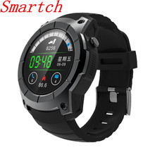 Smartch S958 Bluetooth smartwatch Heart Rate Monitor Wristband pedometer sport GPS Fitness Tracker smart watch Running Watches f
