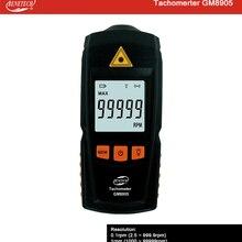 Диагностический инструмент цифровой лазерный тахометр RPM метр Бесконтактный мотор токарный станок датчик скорости GM8905 Benetech