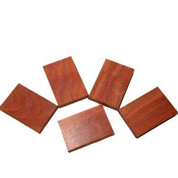 187350b7dd18 Material de madera hecho a mano pulsera de ébano en la cintura Tarjeta de  madera cuchillo mango material placa de madera-1 unidades