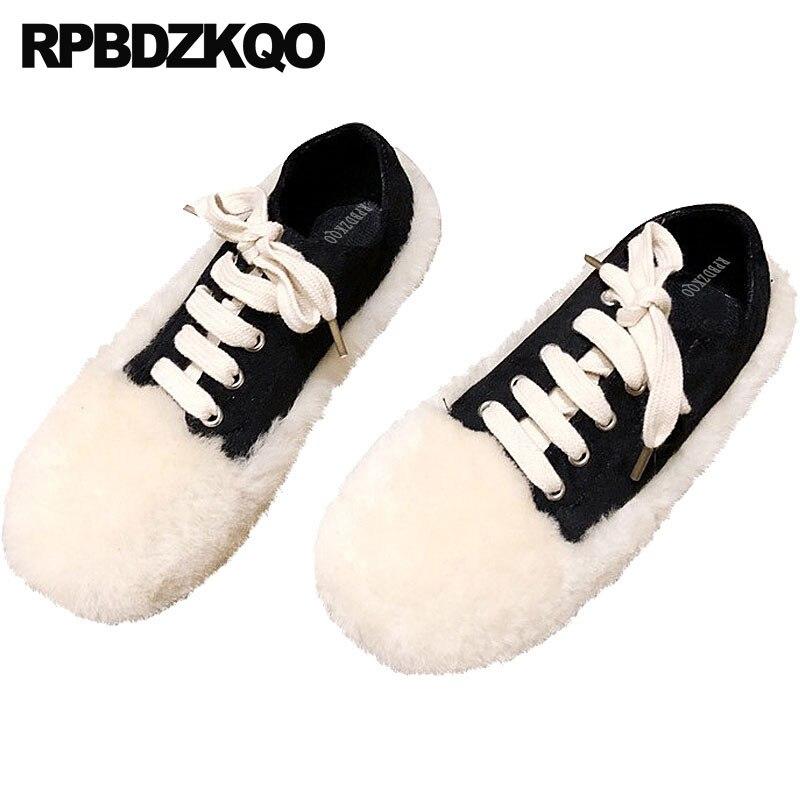 1e4f7455 Señoras Negro Las Directo Coreano Hermosa Pie Encaje blanco Mujeres Redondo  Chino Zapatos De Blanca Planos ...