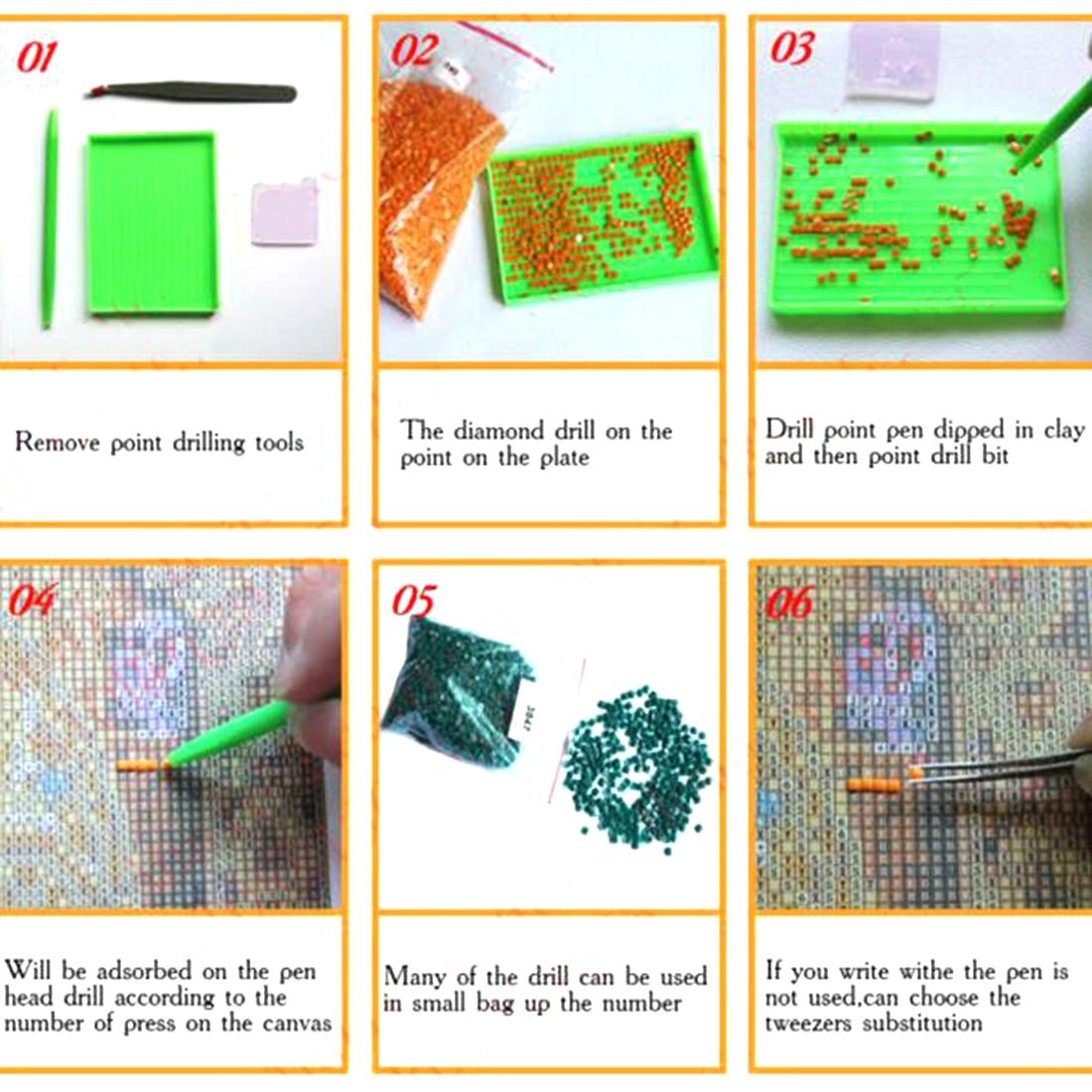 Useful Diamond Embroidery Cat With Cash Pattern DIY 5D Diamond Painting Needlework Cross Stitch Full Drill Rhinestones Painting