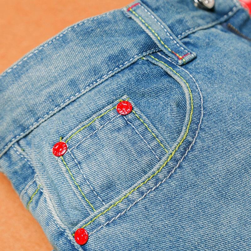 2019 Retro Fashion Slim Skinny Jeans Hombre Solid Casual Jeans rectos - Ropa de hombre - foto 5