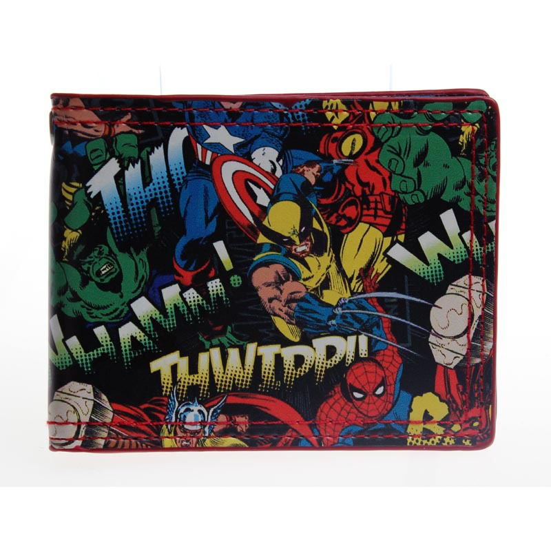 Avengers: Age of Ultron wallet young students move animated cartoon wallet card PU wallet DFT1370