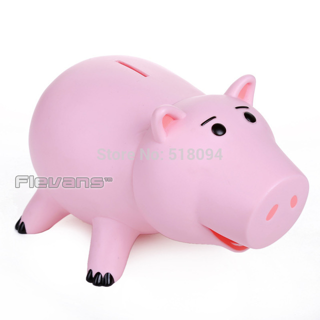 Toy Story Hamm Piggy Bank Pink Pig Coin Box Pvc Model Toys For Children 8