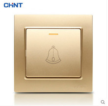 CHNT 86 Type Switch Panel NEW7L Three Color Socket For Doorbell