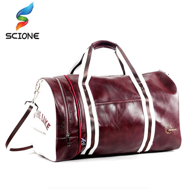 2018 Hot Professional Large Sport Bag Gym Bag Fitness Training Shoulder Bag With Independent Shoes Pocket