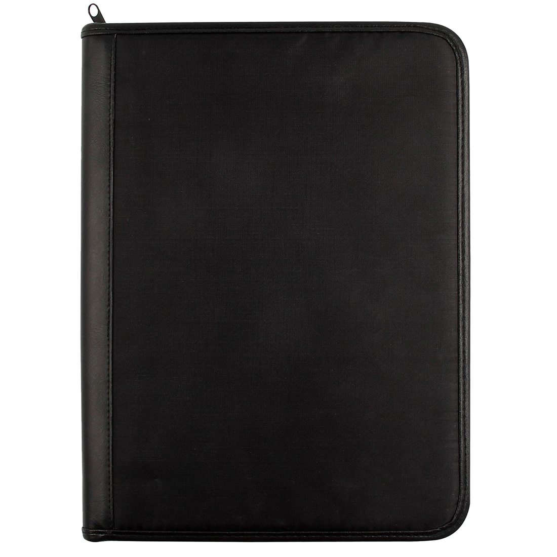 High Quality Modern Fashion Men design A4 Zipped Multifunction Business Meeting Folder File Bag with A4 writing pad Office Tool