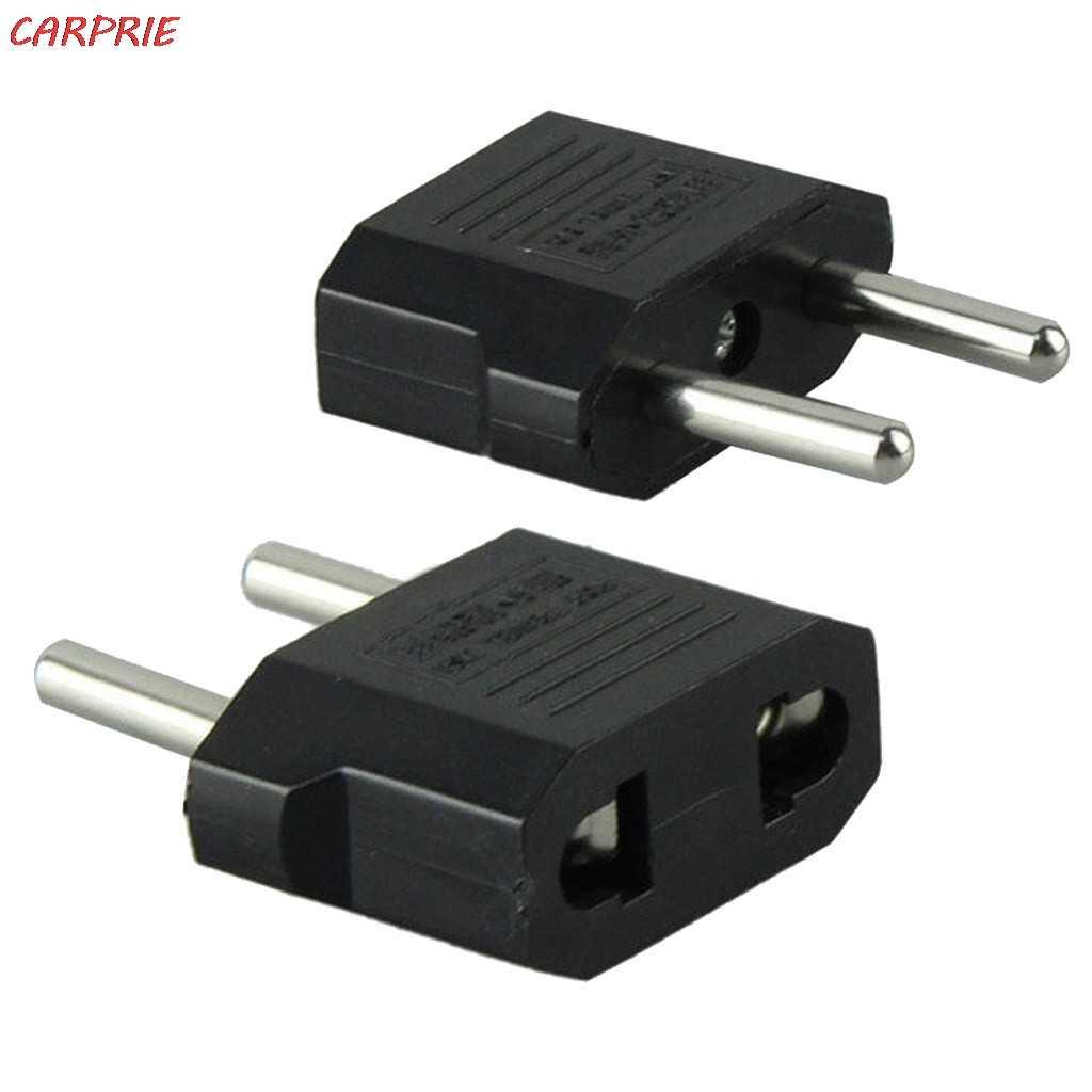 CARPRIE US/AU (Canada/Úc) Để EU (Châu Âu) chuyển đổi AC Cắm Điện Travel Adapter 2019 Khuyến Mãi Lớn Z30417