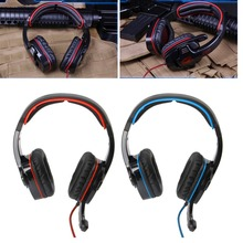 SADES SA901 Wired Gaming Headset 7.1 Surround USB Over Ear Headphone With Mic