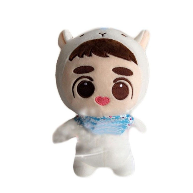 Have Gift 25cm Movie EXO D O Plush Doh Kyungsoo Baby KPOP Dolls Soft Fans Anime
