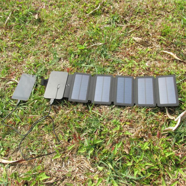 11W Folding Solar Panels Cells Charger  3
