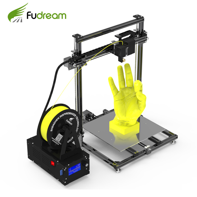 Metal frame 3d printer Fudream DIY printer 3d kit with large printing size and cheap price 1