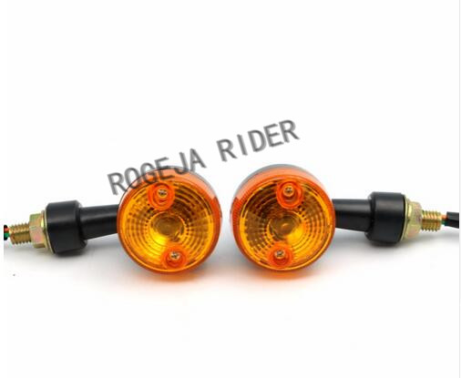 new popular 4PCS Motor Motorcycle Turn Signal Light Direction Indicator Lamp Amber motorbike bulb for Yamaha Honda