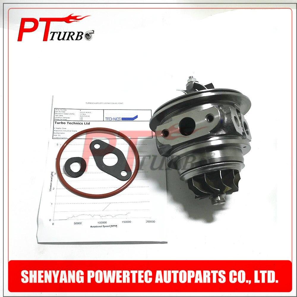 Turbocharger core for Hyundai Grand Starex 1 5L 81KW 49135 04350 turbine cartridge 2820042800 CHRA NEW