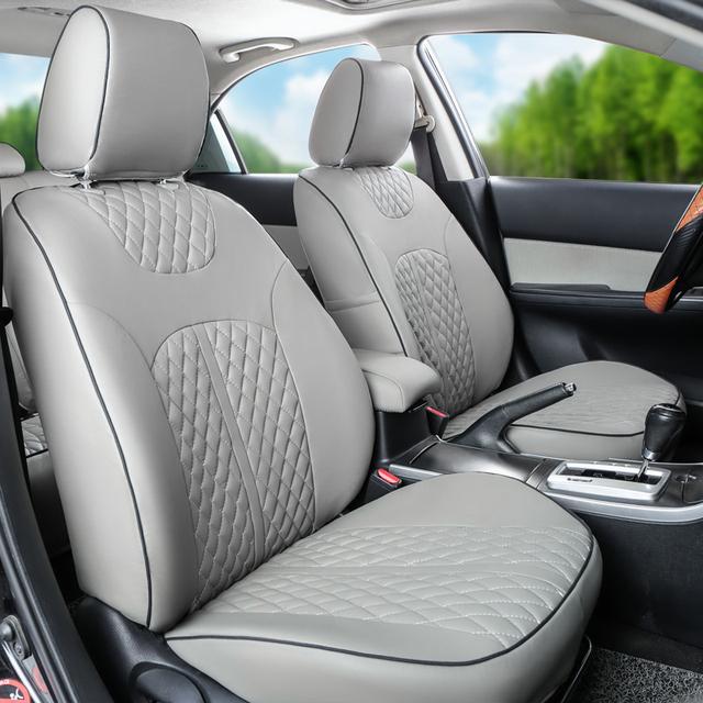 Tampas do carro do PLUTÔNIO de couro para Kia Sorento tampas de assento conjunto suportes do assento de carro de qualidade assento de carro capa de almofada preta feita sob encomenda acessórios