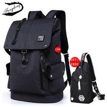 Fashion Male Backpack Large Laptop Backpack Multifunction Travel School Backpack Teen School bag Mochilas Male Student Backpack