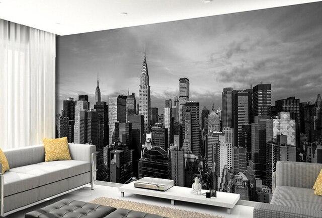 Individuelle fototapeten, New York city wandbilder für wohnzimmer ...
