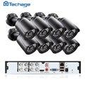 8-КАНАЛЬНЫЙ 1080 P HDMI DVR AHD-М HD CCTV Система 8 ШТ. 1200TVL 720 P Камеры Открытый Водонепроницаемый Ночного Видения Видео Комплект Видеонаблюдения