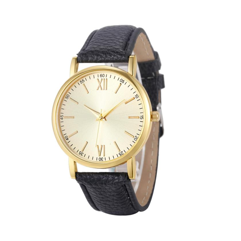 2017 Women's watches Retro Design saat Leather Band Clock Analog Alloy Quartz Wrist Watch M29 2017 hot sale women s clock retro rainbow design watches pu leather band analog alloy quartz wrist watch relogio feminino m22