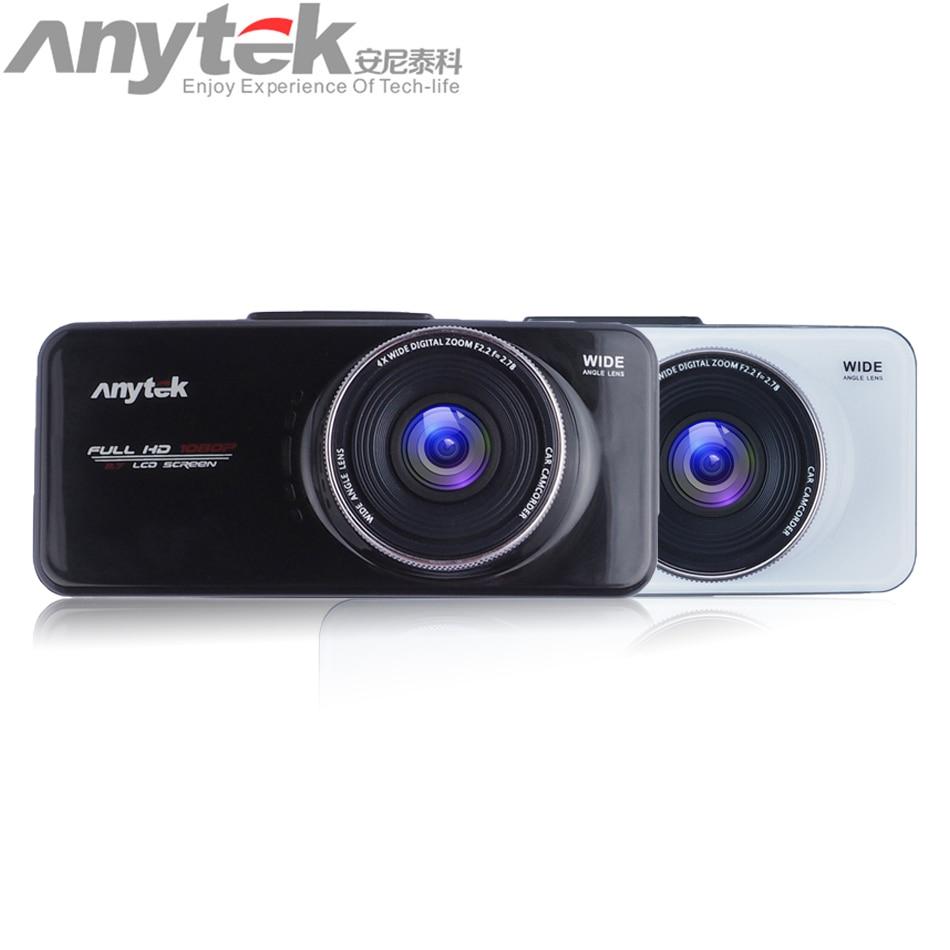 цена на New Original Anytek AT66A Car DVR Camera Dashcam Full HD Novatek 96650 Video Recorder Night Vision Dash Cam Car Registrator