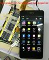 Original usado testado para asus padfone infinity a86 display lcd preto com tela de toque digitador assembléia preto e branco a cores