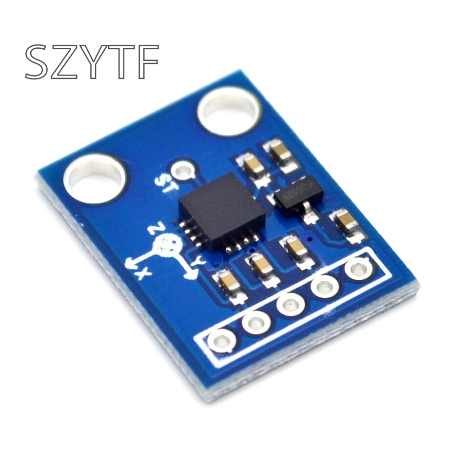 Image 3 - ADXL335 three axis accelerometer tilt angle module alternative MMA7260 GY 61-in Integrated Circuits from Electronic Components & Supplies