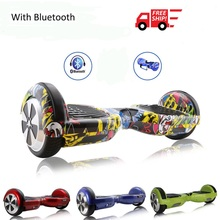8 Colors 6.5 Inch Hoverboard Bluetooth Two Wheels Self Balance Scooter Hover Board With Carry Bag UL Certificated Free Shipping